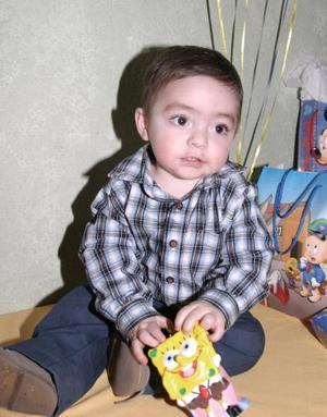 Jorge Emilio Peña López festejó su primer año de vida