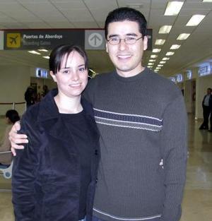 <b>15 de febrero de 2005</b> <p> Mónica Sánchez y Javier Escareño viajaron a Boston.