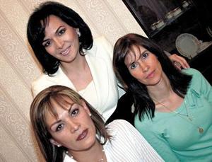 Rocío A de Kempke, Magda Cater de Pena y Brenda Monarrez Galicia