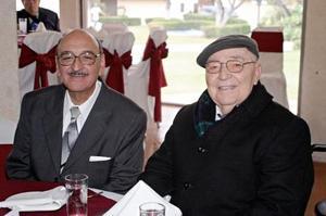 Don Armando Martín Borque y Sergio Pérez Merodio