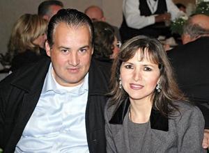 Eduardo Borrego y Mara Aguinaga de Borrego