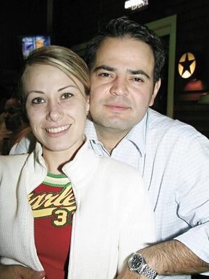 Miriam Montoya y Rafael Mortera