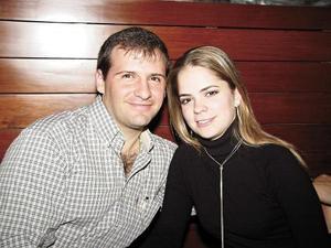 Luis Gullermo Puente y Alicia Jalife