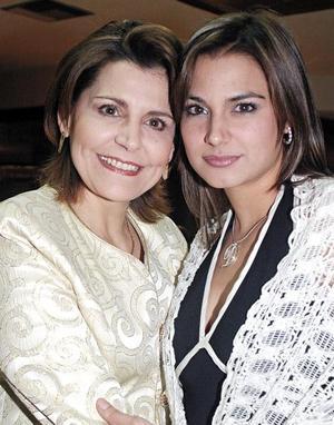 Ana Rosa García de Alba y Beatriz Romo de García de Alba
