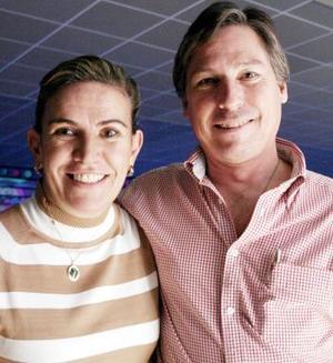Malena y Memo Torres.