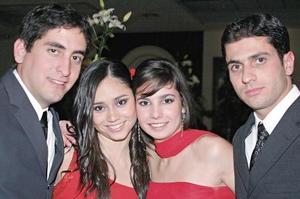 Guillermo Metlich, Mercedes Orozco, Lidia Martínez y Francisco Batarse