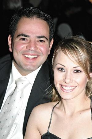 Rafael Mortera y Miriam Motola