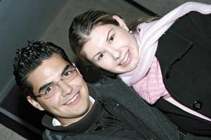 Arturo Becerra y Daniela Villalobos.