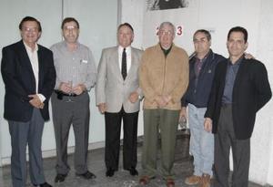 Héctor Fernández, Alejabdro López, Gustavo Bredeé, Hugo García, Víctor Sirgo y Francisco Cobos