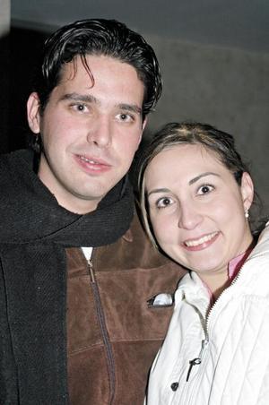 Ana Cecilia Aizcorbe y Fernando García