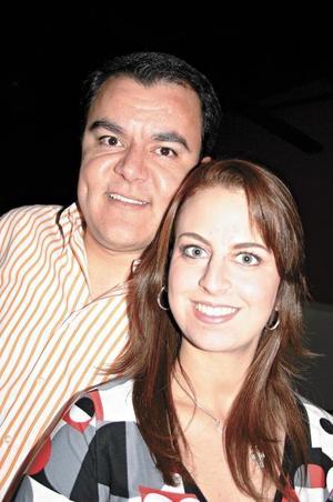 Roberto Kuri y Sofía Zarzar