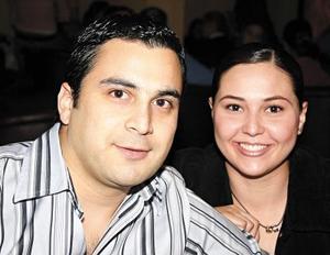 Fernanda Álvarez y Alberto Villalobos