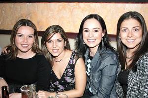 Elvira Padilla, Caro Venegas, Itziar Mugerza y Yola Velázquez