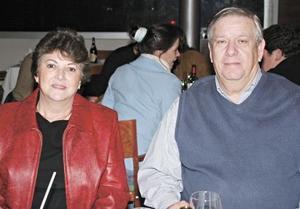 Celia Jalife de Iriarte y Javier Iriarte Maisterrena