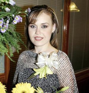 Sandra Rivas Kuster contraerá matrimonio con el Sr. Javier Alarcón Adame el 19 de marzo de 2005.