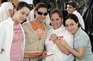 Mary Sofi Fernández, Banchis Borrego, Mariel del Bosque y Naty Garza