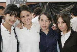 <b>19 de febrero de 2005</b> <p> Susy Aguirre, Diana Gallardo, Priscila Reed y Ximena Sama.