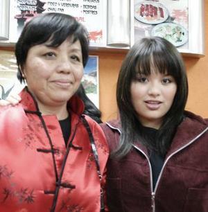 Ana Patricia Rodríguez Chong y Blanca Chong.