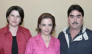 Marcela Amarante, Malú y Ricardo Diez