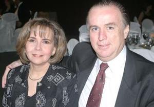 Margarita Torres de Madero y Jorge Madero.