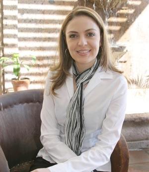Gerogina Cantú Niño de Rivera contraera matrimonio el próximo 16 de abril.