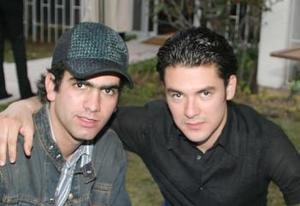 Jorge González y Gerardo Faccuseh.