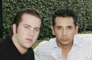José Antonio Flores y Carlos García.