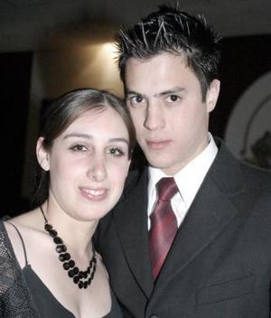 <b>20 de febrero de 2005</b> <p> Stephanie Cohen y Lalo Carmona.