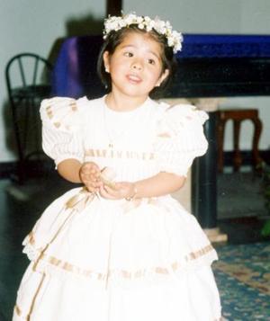 Ingrid Vianey González Acevedo cumplió tres años de vida el pasado jueves 17 de febrero.