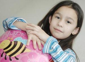 <b>22 de febrero de 2005</b> <p> Reyna Priscila García Villanueva captada en reciente convivio infantil.