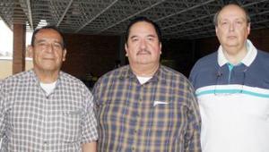 Alejandro Ávalos, Mauro Aguado y Felipe de Alba Bassonier.