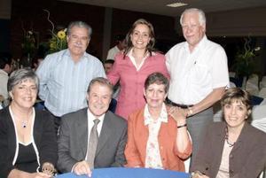 Antonio de la Hoya, Silvia de Salmón, Everardo Márquez, Zoila Ibarra, Manuel Padilla, Adriana Villarreal y Paty Piña