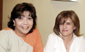 Edith Lozada y Olivia de González