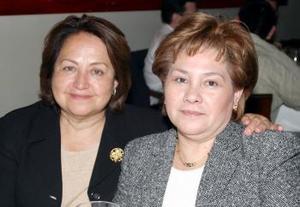 Marite Vargas y  Ana María Vargas