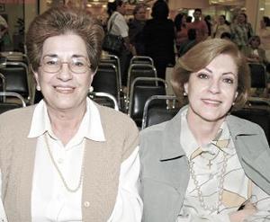 <b>24 de febrero de 2005</b> <p>  Enriqueta de Galván y Yolanda de Fernández