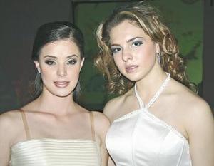 Ana Luisa Portales  y Luz  Areli Astorga