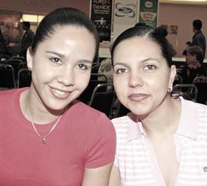 Marcela  Rodríguez y Marcela Salazar.