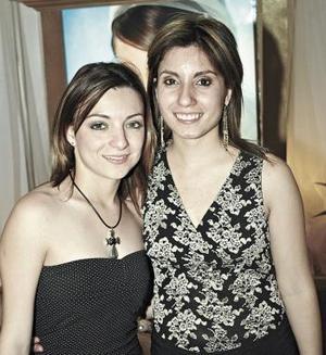 Sofía Cabral y Karlota Martínez.