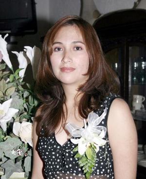 Margarita Guzmán Morán, captada en pasada fiesta de despedidad de soltera