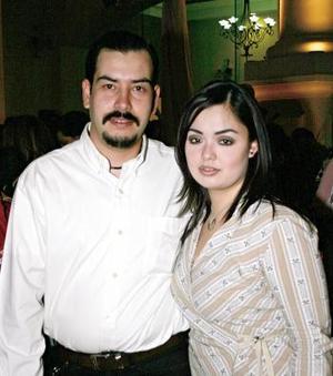 Gustavo Mireles y Alejandra Garza.