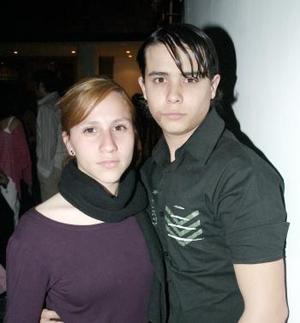 Georgina Hinojosa y Antonio Gurza.