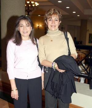 Paty de Anaya y Eugenia Gordillo Argüelles.