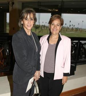 Rocío Delgado y Lupita de Gutiérrez.