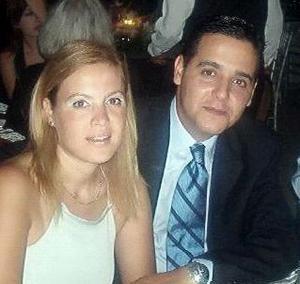 <b>26 de febrero de 2005</b> <p> Luz Magdalena Zúñiga Mijares y Alberto Nájera Tejeda.