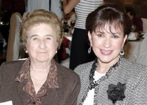 Lorena del Moral y Lety de Ávila.
