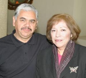 Jorge y Yola Ríos.