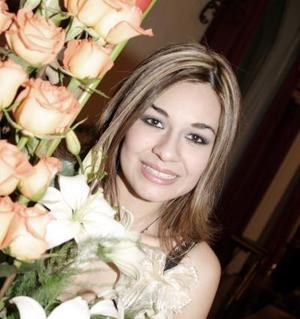 Alejandra Castañeda Márquez contraerá matrimonio el próximo cinco de marzo con Héctor Javier Lara Valadez