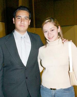 Natalia Maúl y Guillermo Galván.