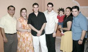 David Alejandro y César Abraham Escalera Ruiz festejaron sus cumpleaños, acompañados por sus familiares y amigos hace unos días.