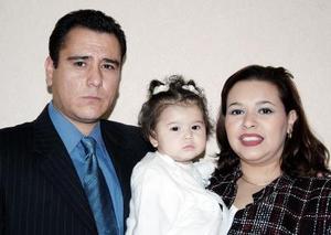 Karla Marcela Jaime de Rangel y Wenceslao Rangel le organizaron una fiesta a su hijita Ana Ximena Rangel Jaime, por su primer año de vida.